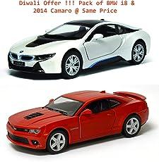 Kinsmart 1:38 Scale 2014 Chevrolet Camaro Die-Cast Car - Multi Color