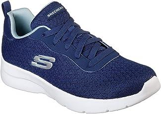 Skechers Women's Dynamight 2.0 Eye to Eye Navy-Light Blue Walking Shoes (12964-NVLB)