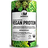 Bigmuscles Nutrition Vegan Protein [750g] | Organic Plant Based Protein + Superfood | Original Flavour | 26g protein, 0g Suga