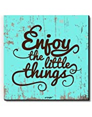 Seven Rays Enjoy The Little Things Fridge Magnet (Blue, FM311)