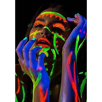 Bar Nightclub Pub Neon Womans Lips Blacklight business poster A2 A1 A0 sizes
