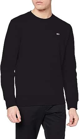 Tommy Jeans Men's TJM Regular Fleece C Neck Sweater