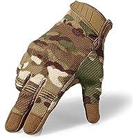 HXSZWJJ Guanti Tattici da Arrampicata da Arrampicata All'aperto da Tiro Militari dell'Esercito Tattico Mimetico Touch…