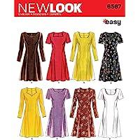 New Look NL6567 Patron de Couture Robe 22 x 15 cm