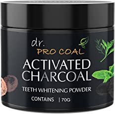 CASA ALLEGRA Dr Procoal Activated Charcoal Instant Teeth Whitening Powder (70 g)