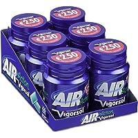 Vigorsol Air Action Gomme da Masticare Senza Zucchero, Barattolo Chewing Gum Gusto Menta Original, Confezione da 6 Mini Barattoli, 46 Gomme Ognuno