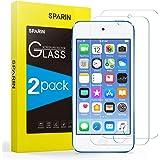 Sparin - Protector de pantalla de cristal templado para iPod Touch 7/6 / 5 (2 unidades)