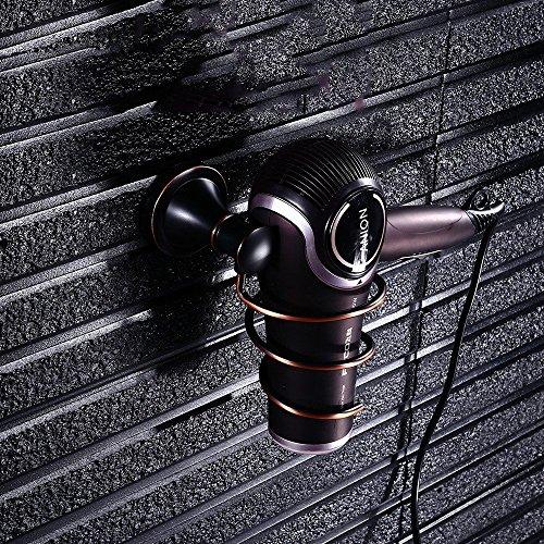 Europäische ORB schwarze Hardware Anhänger Badezimmer Gebläse Gebläse Zylinder Rack Frame (Orb-kleiner Anhänger)