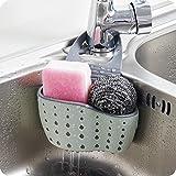 Sink Storage Basket - Sink Caddy Soap and Sponge Holder Drying Rack Holders Dish Drying Rack Sink Shelf, by Ashnna (Beige, Pi