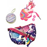 Le Delite Kids Handbag girls,Sling Bag,Coin Purses,Gift for kids girl,Cute bags/Unicorn stylish purse/baby girls doll bag/kid