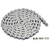 ZONKIE fietsketting 1-vak, 1/2 x 1/8, 122 schakels