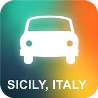 Sicile, Italie Navigation GPS