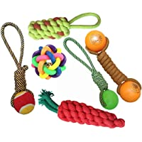 Pet Needs Combo of 6 Cute Toys for Small Puppy/Pets- (Multi Color)