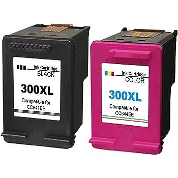 Kyansin 2X Remanufactured pour Cartouches d encre HP 300 XL 300XL  Compatible pour imprimante HP a455e07258ca