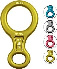 ALPIDEX Abseilachter - geeignet für Seildurchmesser 9-12 mm