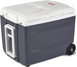 AEG Automotive Thermoelektrische Trolley Kühlbox 37 Liter, 12/230 Volt für Auto und Steckdose