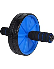 Dewberries® Ab Exercise Roller | Balance Wheel Roller | Ab Wheel Roller (Soft Cushioned Handle)