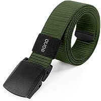 Eono by Amazon - Lightweight Nylon Belt for Men Women Military Tactical Belt Heavy Duty Quick Release Metal Free Canvas…