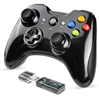 EasySMX Wireless Game Controller, 2.4G Wireless Game Controller, Dual Shock, TURBO for Android Phone or Tablet with OTG…