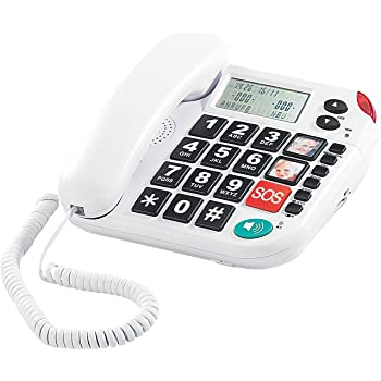 Topcom Phonemaster 180, SIM-Karten-Telefon mit: Amazon.de