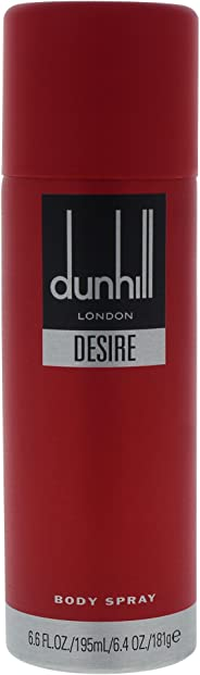 Alfred Dunhill Alfred Desire Body Spray London For Men, 195 ml