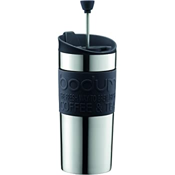 Bodum Travel Press Set Coffee Maker With Extra Lid 0 35 L