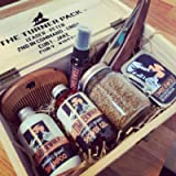 Timberwolf   Personalised Filled Wooden Box   Father's Day Men's Grooming