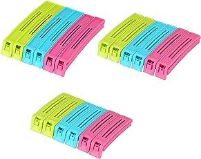 Primelife Rubber Bag Pouch Clip Sealer Set, 18-Pieces
