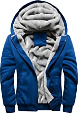 togel Herrenjacke Herren Kapuzenpullover Winter Warm Fleece Zipper Sweater Jacke Outwear Mantel Lässig Komfortable Hoodie Einfarbige Jacken Mode Warm Pullover Langarm Slim Fit Blau Schwarz Grau Rot