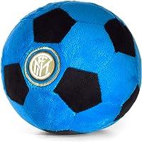 Inter Soccer Ball Plush Official FC Plush Ball Black Blue 16cm