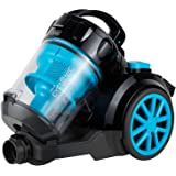 Black+Decker 1800W Bagless Cyclonic Canister Vacuum Cleaner with 6 Stage Filtration, Multi Color - VM2080-B5, 2 Years Warrant