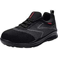LARNMERN Safety Shoes Men Women Breathable Lightweight Work Trainers Steel Toe Caps Shoes