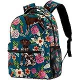 XiangHeFu Leichter Rucksack für Mädchen Jungen Schulreisetasche Daypack deutsch kurzhaarig Bedruckter Sackpack