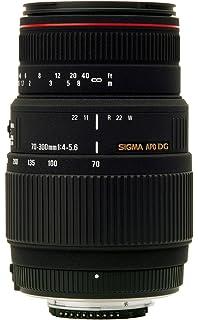 Sigma 70 300mm F/4 5.6 DG APO Macro Telephoto Zoom Lens for Nikon DSLR Camera