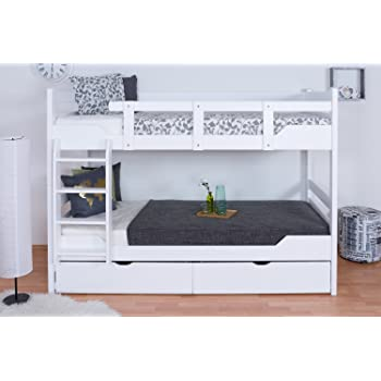 stockbett f r erwachsene easy premium line k12 n inkl 2 schubladen und 2 abdeckblenden kopf. Black Bedroom Furniture Sets. Home Design Ideas