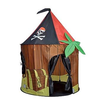 sc 1 st  Amazon UK & Kids Kingdom Pop-up Pirate Cabin Play Tent: Amazon.co.uk: Toys u0026 Games