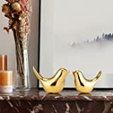 RICHTER ® Ceramic Decorative Birds (Standard, Gold)