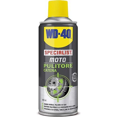 Wd-40 39798/46 Pulitore Catena Moto, Senza Colore, 400 Ml