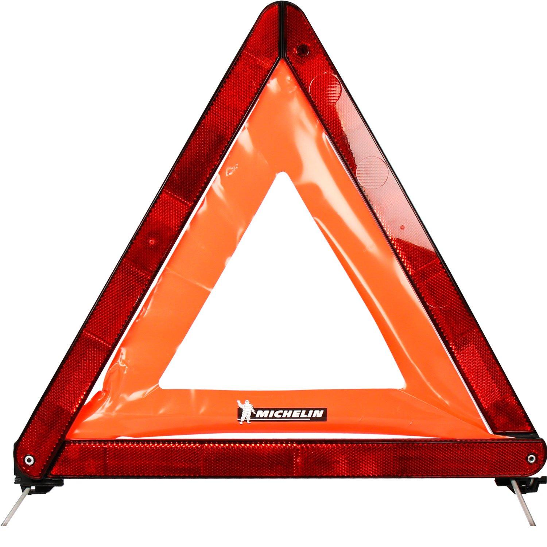 Michelin 92402 Triangle de signalisation ECE, lame de rangement rigide en plastique