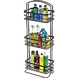 Haus Alchemy Multipurpose 3 Tier Standing Bathroom Caddy Tower/Kitchen Stand Shelf to Store Shampoo, Soap, Conditioner, Showe