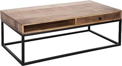 Wunderbar Riess Ambiente Massiver Couchtisch Iron Craft 115cm Mangoholz Mit  Schubladen Massivholz Holztisch Beistelltisch Wohnzimmertisch Tisch