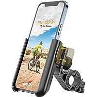 Grefay Handyhalterung Fahrrad Universal Motorrad Handyhalter 【1S Schnelle Demontage】 Handyhalterung für Rennrad MTB…