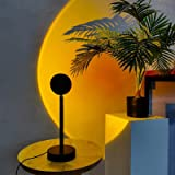 مصباح بضوء اشعة الشمس وضوء ليلي قابل للدوران 180 درجة بمدخل يو اس بي مصباح ليد لغرفة رومانسي لغرفة المعيشة وغرفة النوم يعد اف