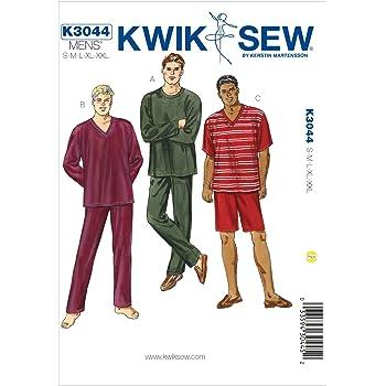 KwikSew Schnittmuster 3044 Schlafanzug Gr. S-XXL: Amazon.de: Küche ...