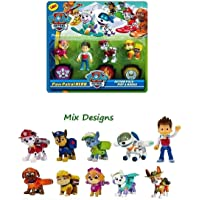 Premium Product Figure Toys Paw and Patrol Action Pup & Badge (Multi Design and Multi Color) 4 pics