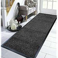 TrendMakers Doormat Highly Absorbent Cotton Mats PVC Backing Non Slip Barrier Mat Dirt Trapper Mats Entrance Rug - 40cm…