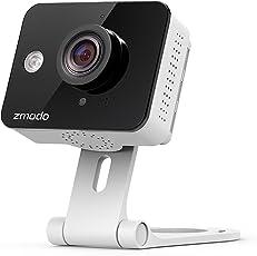 Zmodo 720P HD WLAN Überwachungskamera, Kabellose IP Kamera für Innen mit Nachtsicht/2-Wege-Audio/Bewegungsmeldung/Cloud