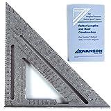 Swanson Tool Speed Square S0101 Geo-Dreieck mit Anschlagwinkel, Metric (25 cm)