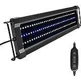 NICREW ClassicLED G2 Luz LED Acuario, Iluminación LED para Acuarios, Pantalla LED Acuario Lámpara de Planta para Pecera 45-60