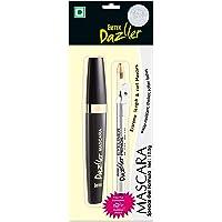 Eyetex Dazller Mascara 12.5g with FREE INSIDE - Eyetex Dazller Eyeliner Pencil (with built-in sharpener) 1.5g